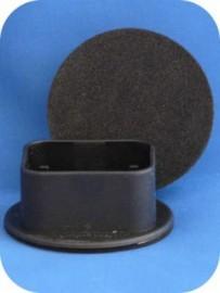 50mm Twin Wheel Non Slip - SET OF 4